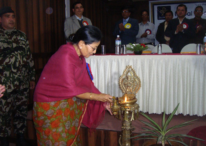 AGM 2013 Inauguration by Chief Guest MoWCSW Riddhibaba Pradhan