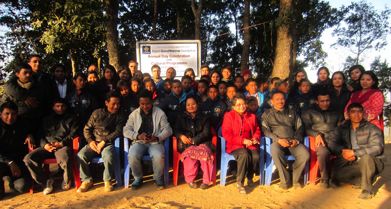 GoodWeave Nepal Family Celebrated Annual Day 2012