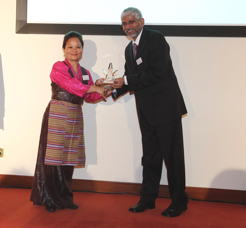 Nepal GoodWeave Foundation received STARS Impact Award 2011